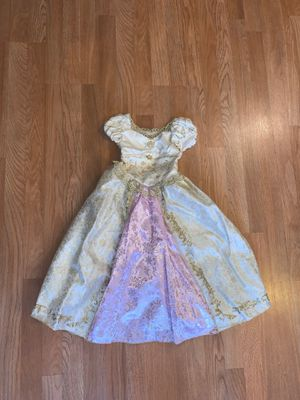 Rapunzel Gold Dress Disney Store Size 4 Kids for Sale in Montebello, CA