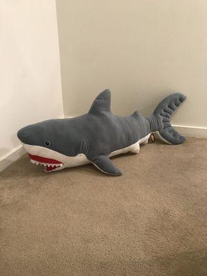 Melissa and Doug shark stuffed animal (3ft) for Sale in Hillsboro, OR