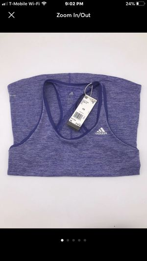 Adidas Women's Tank Top Workout Purple for Sale in Miami, FL