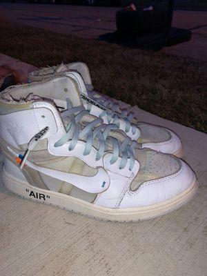 Off White Air Jordan 1 for Sale in Irving, TX