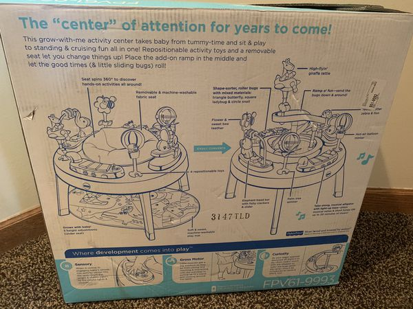Fisher-Price sit to stand 3 in 1 activity center