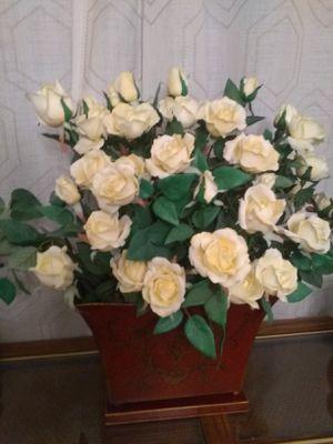 Artificial flowers vase for Sale in Leesburg, VA