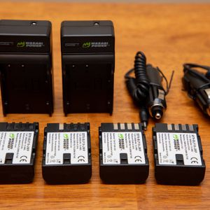 Wasabi Power Battery (2-Pack) and Charger for Panasonic DMW-BLF19 and Panasonic Lumix GH5, GH4, GH3 for Sale in Seattle, WA