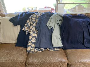 New men's 13 T-Shirts & Button shirts size XL $3-4 each for Sale in Fresno, CA