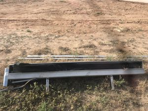 Electric flip over end dump trailer tarp, complete set for Sale in Wolfforth, TX