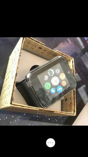 ♡global smartwatch with camera bluetooth or simcard♡ for Sale in Seattle, WA