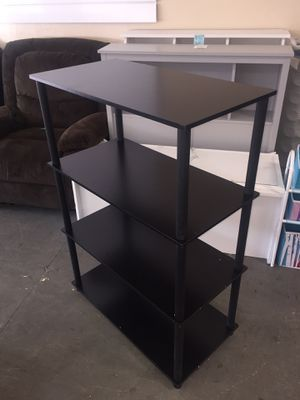 New 4 Shelf Storage, Black for Sale in Columbia, SC