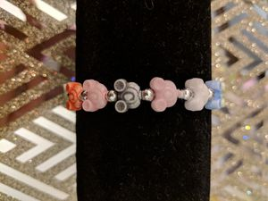 Cinderella Carriage Mickey Mouse Disney Logo Bracelet Multicolored Rainbow for Sale in Manassas, VA