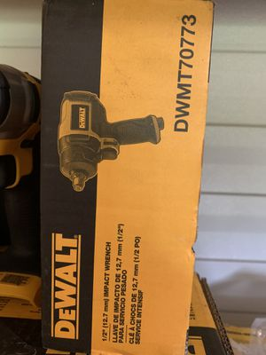 Brand new dewalt 1/2 impact wrench air tool not negotiable for Sale in Plant City, FL