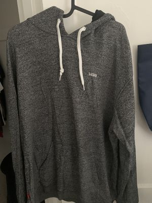 Grey vans hooded sweater for Sale in Miami, FL