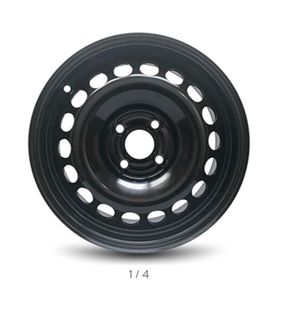 New: 4 Lug Black Full Size Replacement Steel Wheel Rim for Sale in Greenville, MS