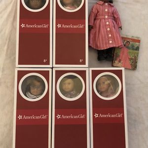 American Girl Doll 3 dolls Mini Molly McIntire Elizabeth Cole Ruthie NEW in box with book for Sale in Freehold, NJ