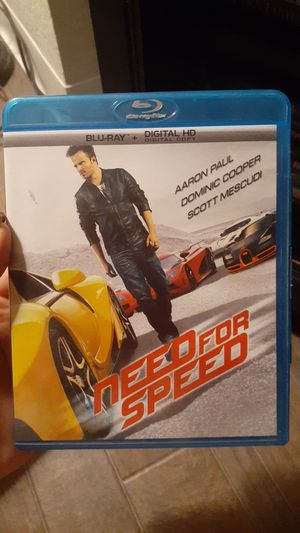 Need for Speed Blu Ray for Sale in Mesa, AZ