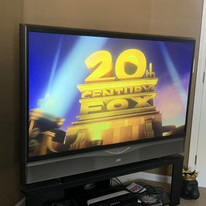 JVC HD-56GC87 720P HD Rear Projection TV With Stand for Sale in Byron, CA