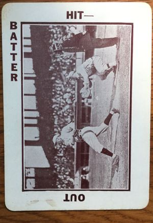 1913 National Game Baseball Card - Batter Swinging Looking Forward for Sale in Middleton, MA