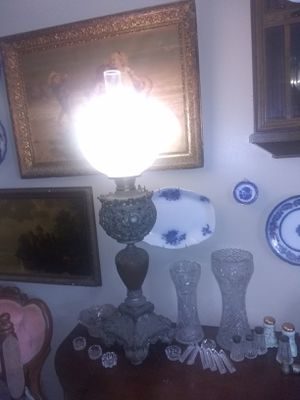 Antique oil lamp for Sale in Canal Winchester, OH
