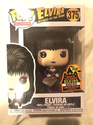 Funko POP TV! Elvira Spooky Empire Exc Purple Dress Diamond Collection 2500pcs LE for Sale in Long Beach, CA