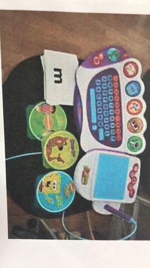 TV kids computer. Coloring and learning board . for Sale in Cherry Hill, NJ