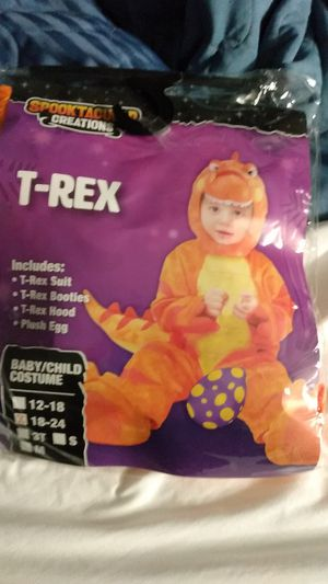 Baby TRex costume for Sale in Decatur, GA