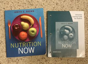 Nutrition Now, 6th edition & Interactive Learning Guide for Sale in Glendora, CA