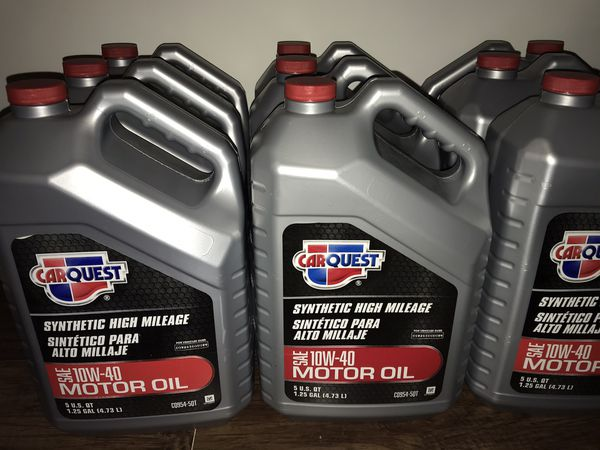 Carquest synthetic motor oil 10w40 in Springfield