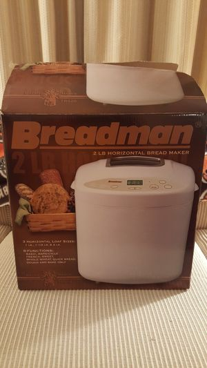Breadman Programable Bread Maker for Sale in Cleveland, OH