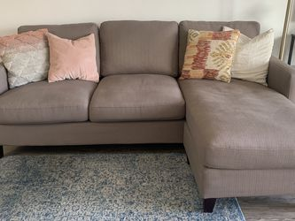 World Market 3 Seater L Shaped Couch-L Can Be Either Side for Sale in Los Angeles,  CA