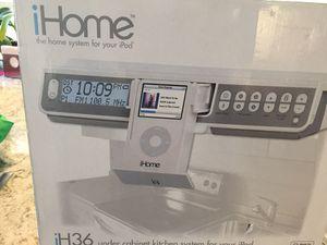 IHome UNDER cabinet Radio w Apple dock New in Box. for Sale in Alexandria, VA