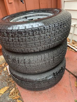 225 75 15 trailer rims tires for Sale in West Palm Beach, FL