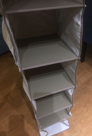 In closet organizer -$5 per piece for Sale in Irvine, CA