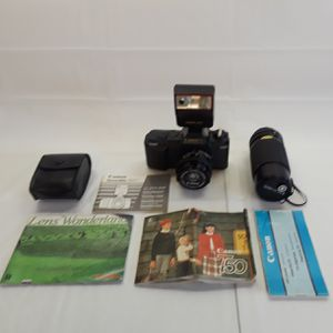 Canon T50 35mm Camera with 2 Lenses for Sale in Anaheim, CA