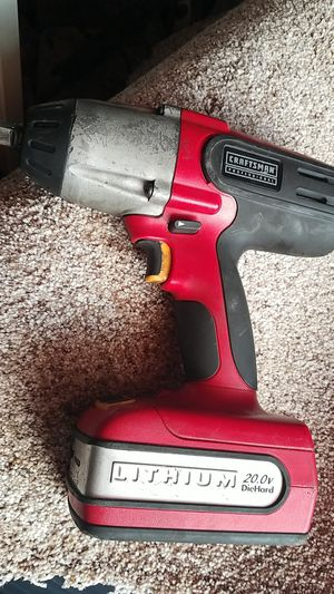 Craftsman impact wrench 20 volt for Sale in Dallas, TX