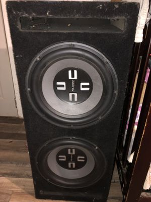 12 inch almani subwoofers in box for Sale in Los Angeles, CA