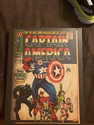 Captain America First Edition Poster for Sale in Claremont, CA