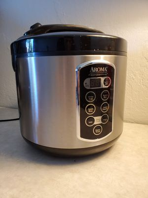 Aroma Professional Digital Rice Cooker for Sale in Sacramento, CA
