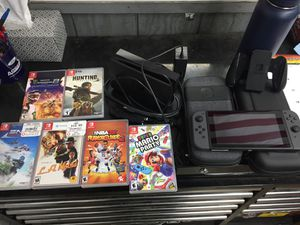 Nintendo Switch + Games and Accessories , like new for Sale in Cloverdale, OR