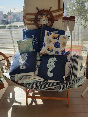 Decorative Nautical Decor Beach throw pillows for Sale in Alhambra, CA
