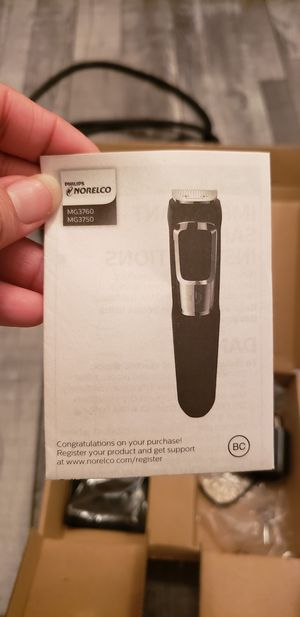 The Philips norelco multigroom for Sale in Everett, WA
