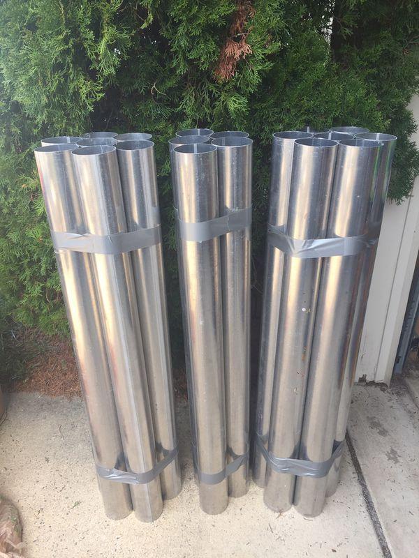 """4"""" Aluminum Tubes (19 total)"""