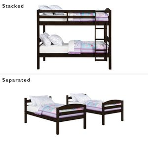 Twin Bunk Bed Or 2 Twin Beds for Sale in Dallas, TX