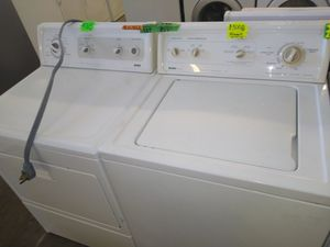 Kenmore elite washer dryer set Electric work perfectly for Sale in Fresno, CA