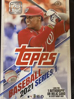 2021 Topps Baseball Series 1 Hobby Box for Sale in Tracy,  CA