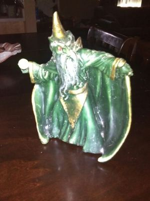 Vintage Collectible Wizard Art Statue Candle for Sale in El Mirage, AZ