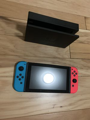 Nintendo Switch Console with Neon Blue & Red Joy-Con. for Sale in Temple City, CA