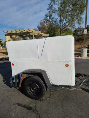 4' x 6' Enclosed Trailer, Tows Great, including contents for Sale in Murrieta, CA
