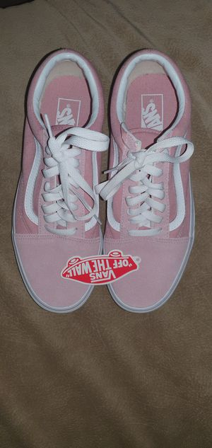 Without the box brand new Vans Old Skool Color -ZEPHYR/TRUE WHITE for Sale in Rochester, NY
