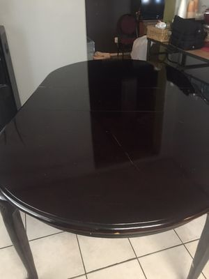 Real wood table for Sale in Glendale, AZ