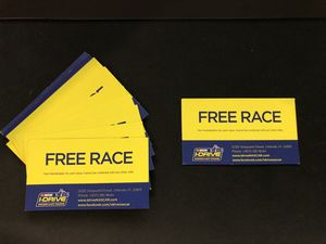I-Drive Nascar Indoor Kart Racing FREE RACING COMPLIMENTARY CARD SALE for Sale in Orlando, FL