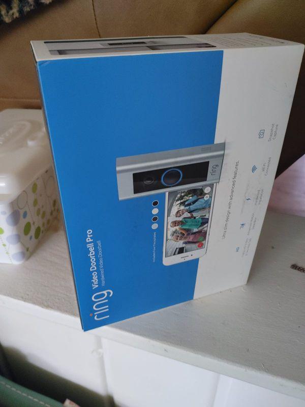RING door pro camera