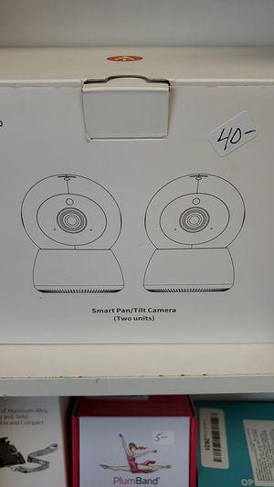 2 smart pan tilt cameras new in box for Sale in Newark, OH